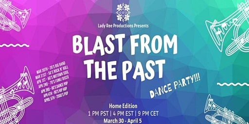 Blast From the Past: Online Dance Party