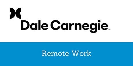 Remote Work – Arbeiten im virtuellen Team Tickets