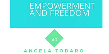 Empowerment and Freedom. Acquisire autoefficacia e libertà personale biglietti