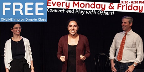 Moment's FREE Online Drop-in Improv Class tickets