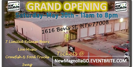New Magnolia Brewing - Grand Opening tickets