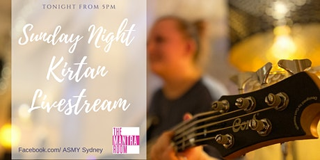 Sunday Night Live streamed Kirtan with Tota and Family tickets