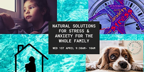 Natural Solutions for Anxiety and Stress for the whole family tickets