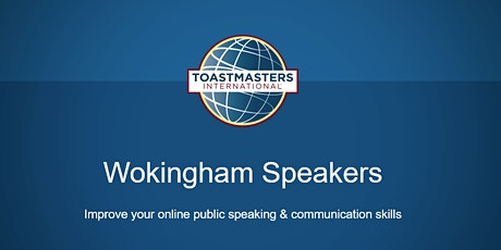 Wokingham Speakers - Enhance your public speaking & communication skills tickets