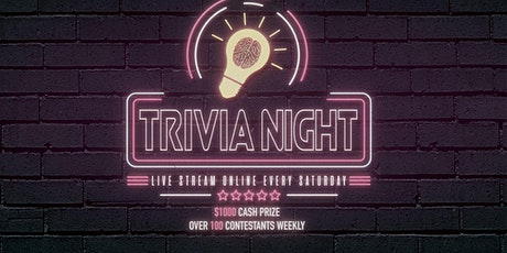Chicago Live Streaming General Trivia with $1000 cash prize tickets