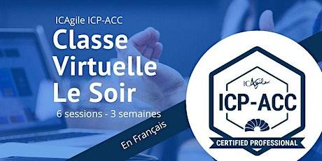 Certification Coach Agile En ligne en Français - ICP-ACC ICAgile tickets