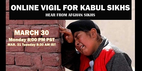 Online: Interfaith Solidarity Vigil for Kabul Sikhs CallToAction tickets