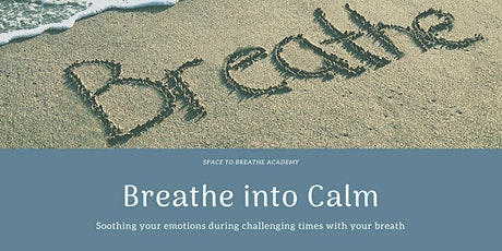 Breathe Into Calm - Soothing your emotions during challenging times tickets