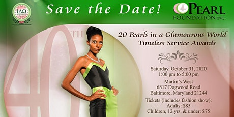 20 Pearls in a Glamourous World Scholarship Benefit tickets