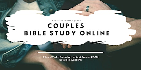 Couples Online Bible Study tickets