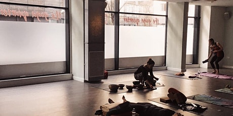 Yin and Tibetan Sound Bowls Meditation (60 min) LIVE STREAM tickets