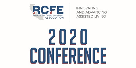 2020 RCFE Association Conference tickets