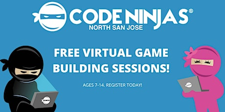Free Virtual Game Building (Coding) Session tickets