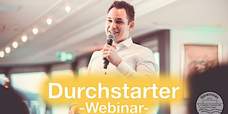 Durchstarter - Webinar - April Tickets