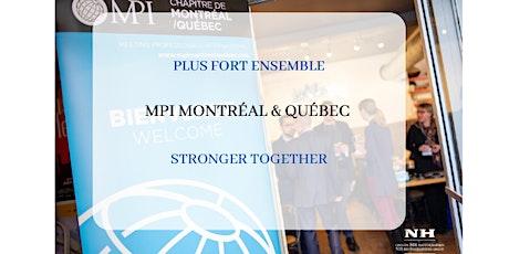Plus Fort Ensemble MPI Montréal Québec Stronger Together / Session 4 billets