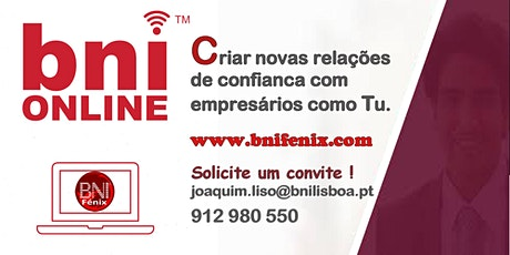 Online Business Networking - BNI Fénix em Lisboa tickets