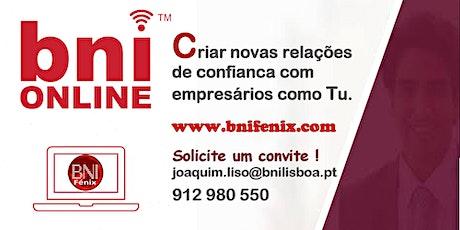 Online Business Networking - BNI Fénix em Lisboa bilhetes