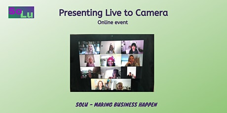 Presenting to Live Camera - Part 1 tickets