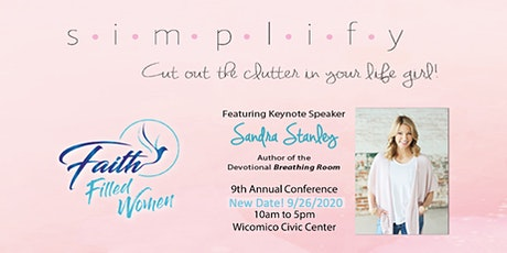 Faith Filled Women 2020 Conference (Rescheduled Date 9/26/2020) tickets