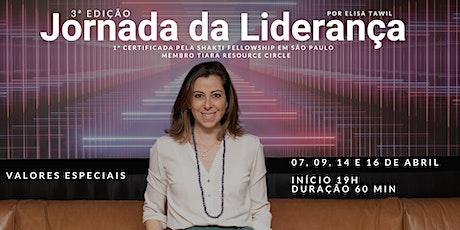 Jornada da Liderança por Elisa Tawil   3ª edição bilhetes