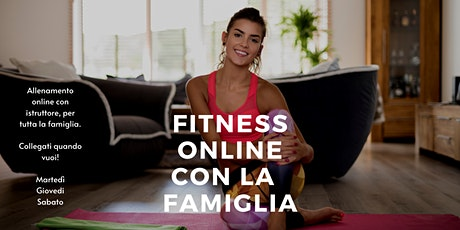 Io resto a casa e faccio fitness con la mia famiglia biglietti