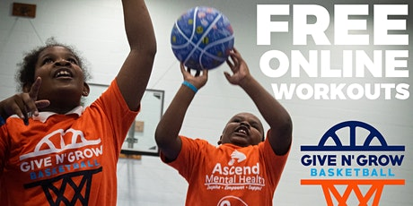 Free Virtual Basketball Workout - Stay Mentally and Physically Healthy tickets