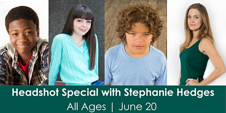 June Headshot Special with Stephanie Hedges tickets