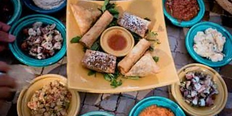 Virtual Online Cooking Class: Moroccan Dishes tickets