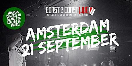 Coast 2 Coast LIVE Artist Showcase Amsterdam, NL - $50K Prizes! tickets
