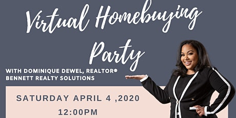 """""""Before I Get My Keys Educate Me Please!""""-Virtual First Time Homebuyer's Party! tickets"""