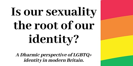 Is our Sexuality the Root of our Identity? tickets