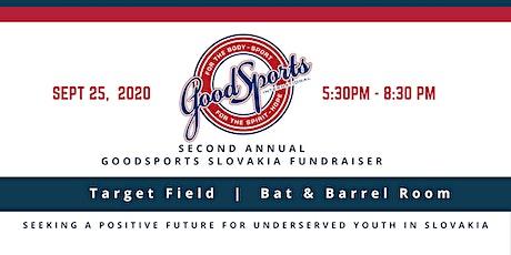 GoodSports Slovakia Fundraiser tickets