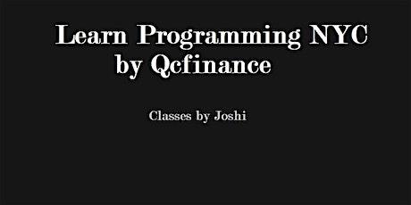 Python Intermediate part 1 Class (6+6 hours $325)- Online Event tickets
