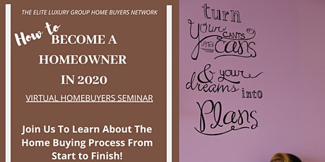 Become A Homeowner 2020 tickets