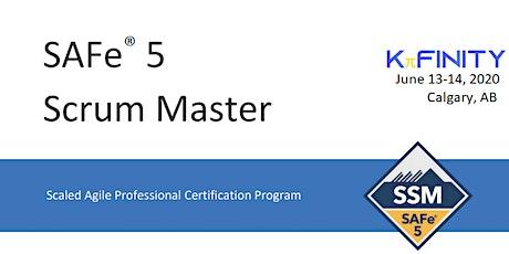 Scrum Master - SAFe® 5.0 - Calgary tickets
