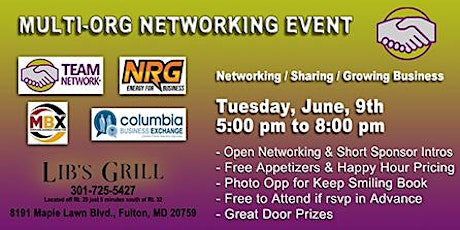 Multi-Org Networking Extravaganza tickets