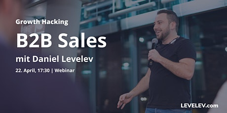 [Webinar] B2B Sales mit Daniel Levelev Tickets