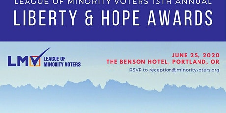 Liberty & Hope Awards Dinner 2020 tickets