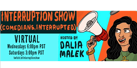 Interruption Show (comedians, interrupted) tickets