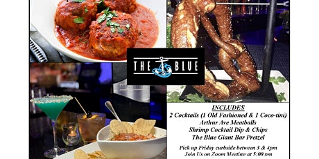 THE BLUE Virtual Cocktail Hour tickets
