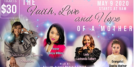 The Faith, Love and Hope of a Mother- Prayer Breakfast tickets