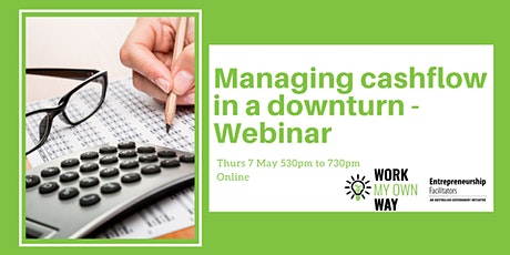 Managing Cashflow in a Downturn - Webinar tickets