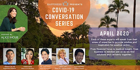 COVID-19 Conversation Series with Alice Inoue and Tanna Dang tickets