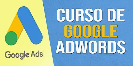Curso Online de Google ADS - Nivel Inicial 10 Clases entradas