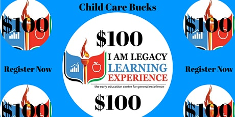 Special Gift from @iamlegacykids FREE Child Care tickets