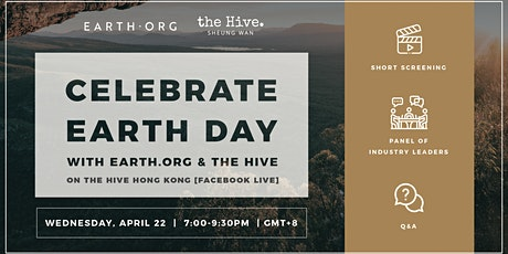 Earth Day with Earth.org tickets