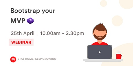 [WEBINAR] Bootstrap your MVP ⚡ tickets
