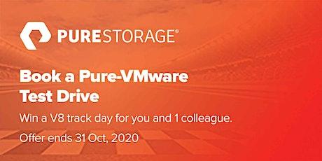 Book a Pure Test Drive - VMware tickets