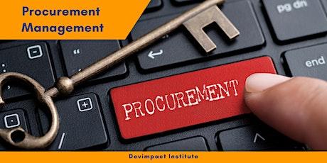 Training on Procurement Management tickets