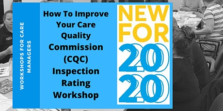 How To Improve Your Care Quality Commission (CQC) Inspection Rating (2 Day) tickets